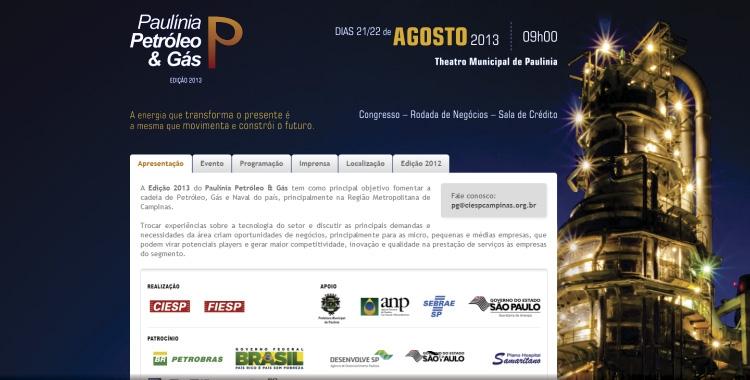 Paulínia Petróleo e Gás 2013