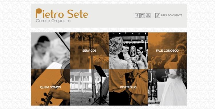 Pietro Sete - Coral e Orquestra
