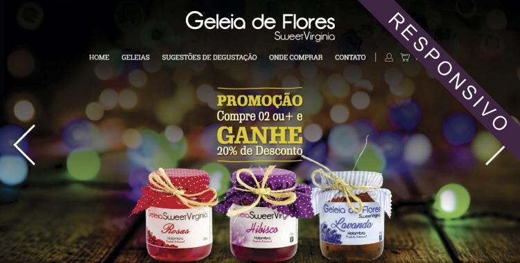 Geleia de Flores