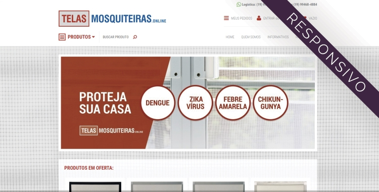 Telas Mosquiteiras Online
